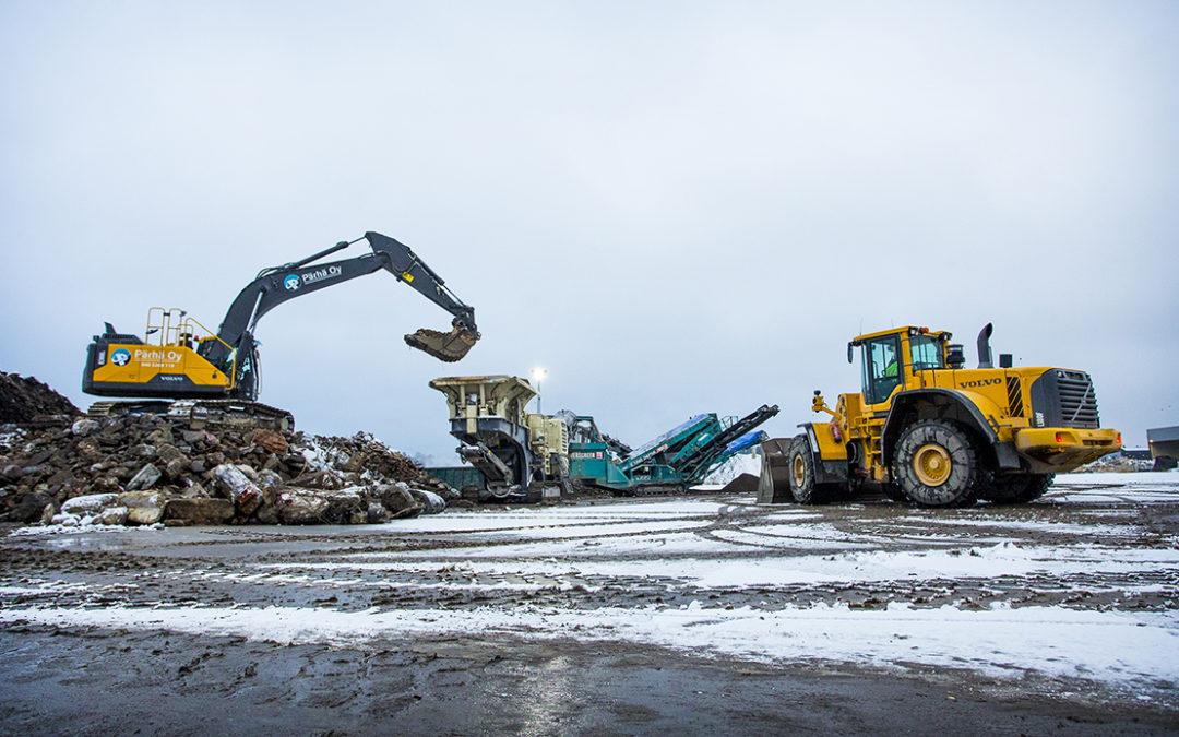 Kaksi aluetta nousi kärkeen Lahden seudun kierrätyspuiston sijaintivaihtoehtojen vertailussa yritysnäkökulmasta