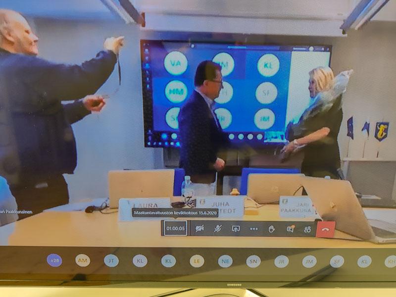 Laura Leppänen valittiin maakuntajohtajan vakituiseen virkaan