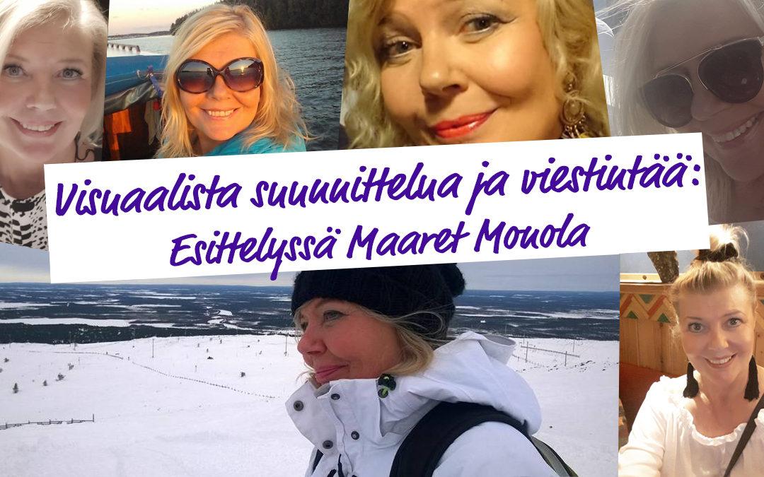 Esittelyssä Maaret Monola