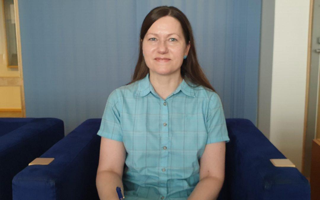 Esittelyssä Sanna Jokinen
