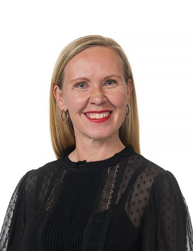 aluesuunnittelujohtaja Niina Ahlfors