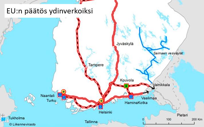 Itäradan oikaisun sijaan panostettava olemassa olevan rataverkon kehittämiseen