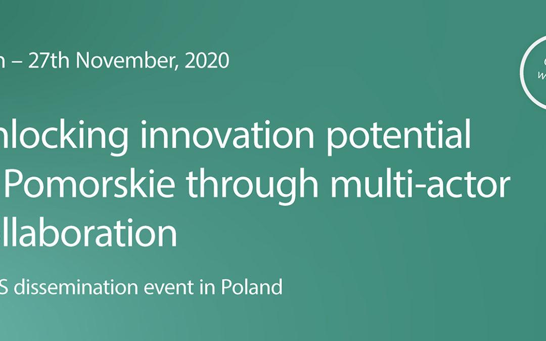 Innovaatiopotentiaali esiin Pomorskien alueella – Miten he sen tekevät?