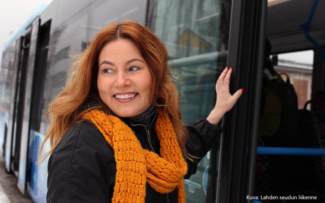 Maksutta bussiin marraskuussa – kokeilu uusille bussimatkustajille